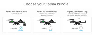 GoPro Karma drone price rise for UK customers after recall