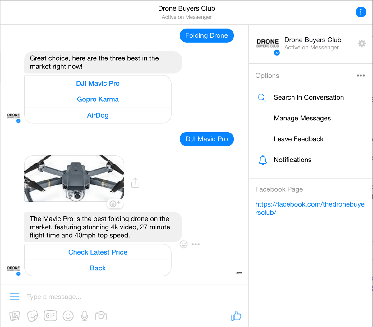 Drone Buyers Bot