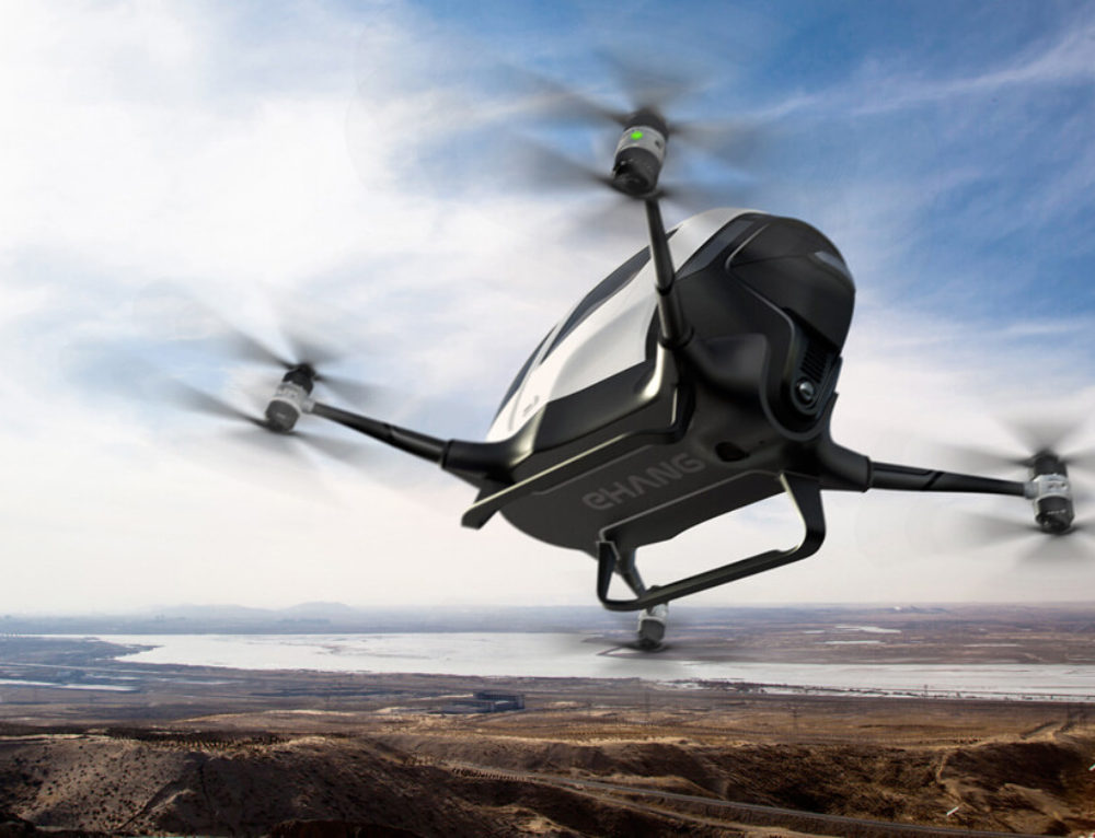Life Size Passenger Drones For Transport