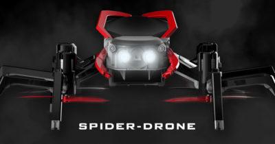 Spider Drone Sky Viper Spiderman Drone