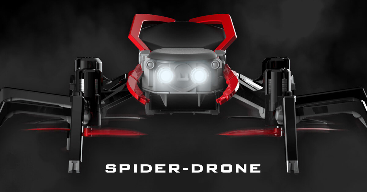 Spider Drone | Gamification of drones