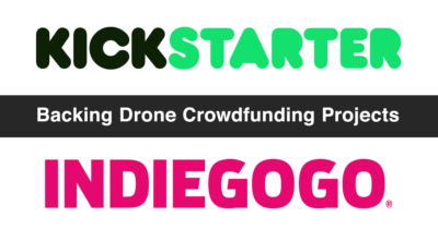 backing crowdfunded drone projects