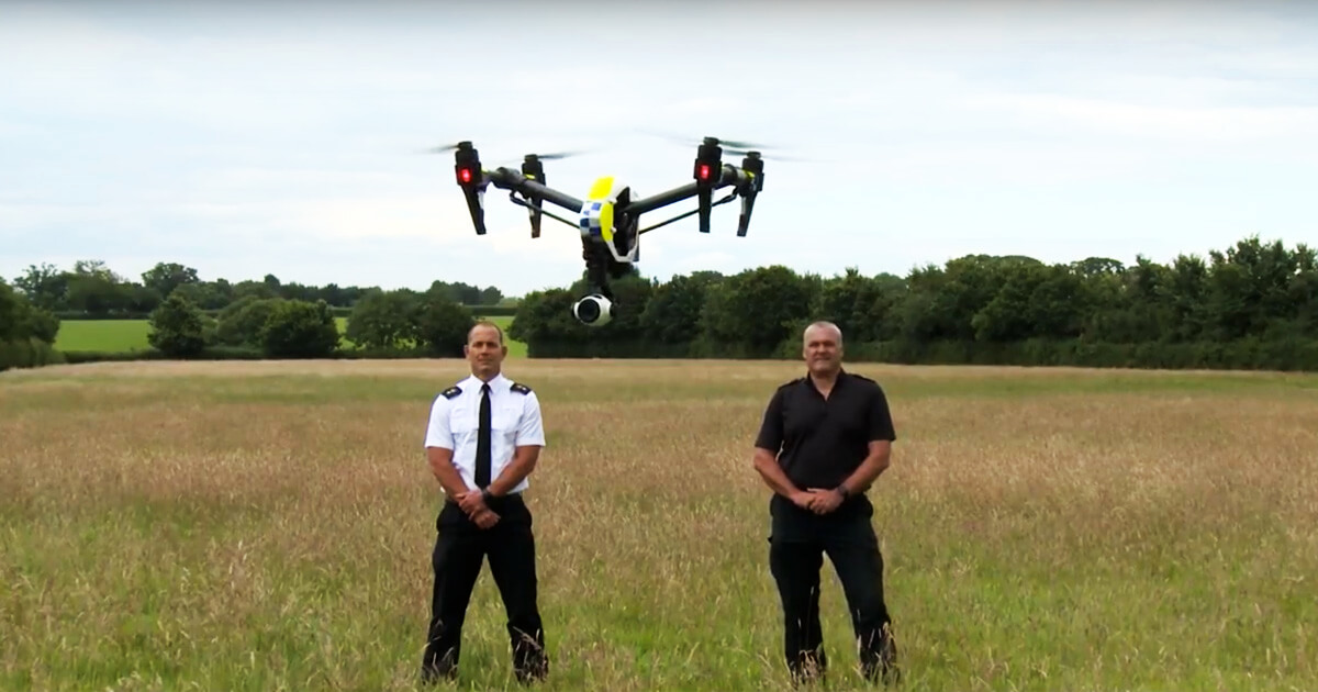 Police Drones Launched in the UK