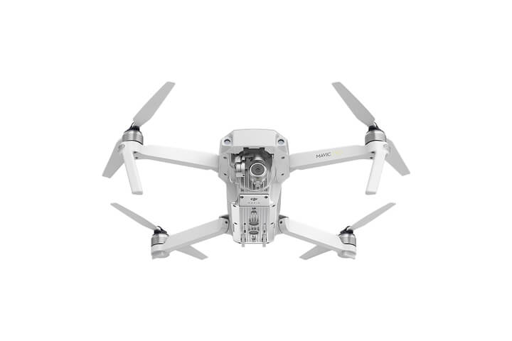 DJI Mavic Pro Alpine White Edition Bottom View