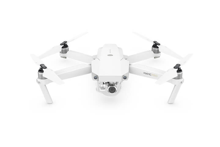 DJI Mavic Pro Alpine White Edition Front View