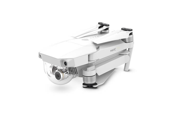 DJI Mavic Pro Alpine White Edition Folded View