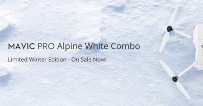 DJI Mavic Pro Alpine White Edition