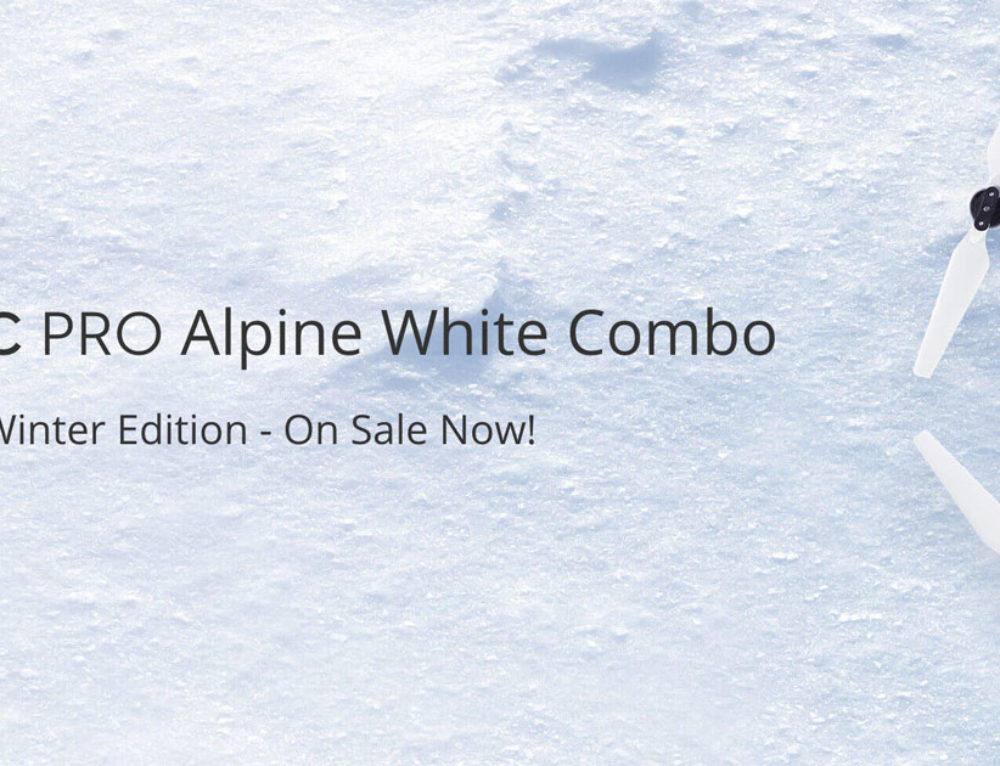 DJI Mavic Pro Alpine White Edition Out Now