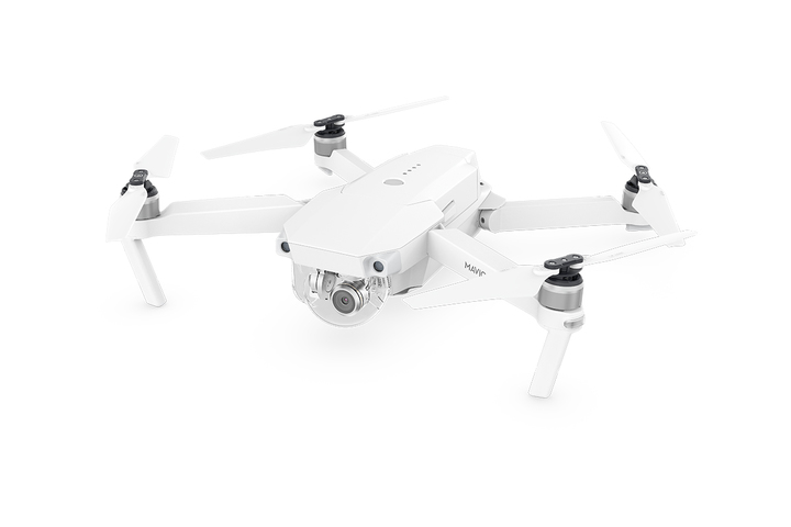 DJI Mavic Pro Alpine White Edition Angle View