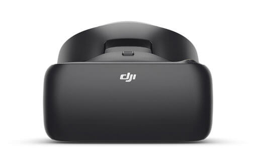 DJI Racing Goggles Front View