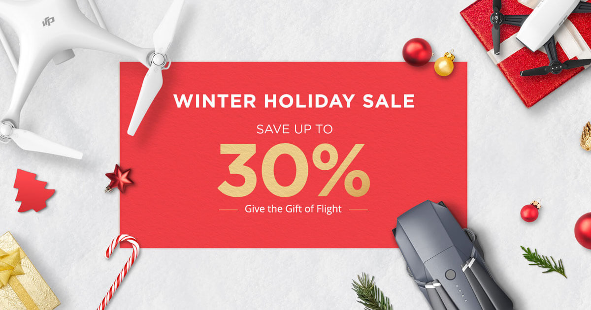 DJI Winter Holiday Sale