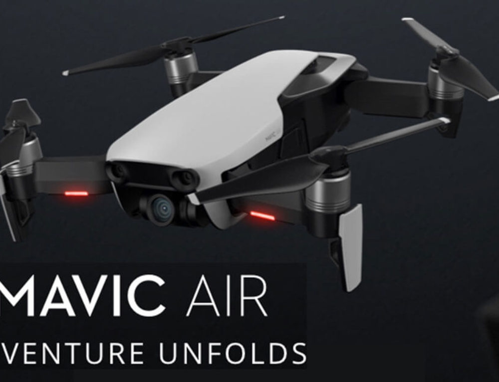 Mavic Air drone from DJI | Where it fits in to the DJI drone lineup
