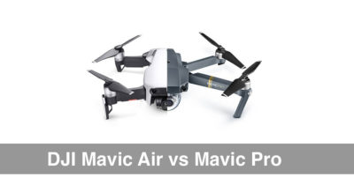 DJI Mavic Air Vs Mavic Pro