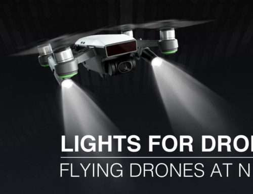 Lights for drones | Flying drones at night
