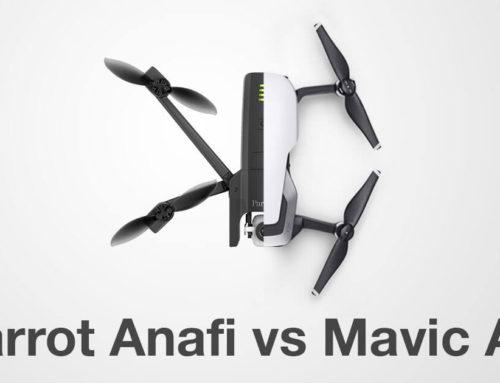 Parrot Anafi vs DJI Mavic Air Spec Comparison