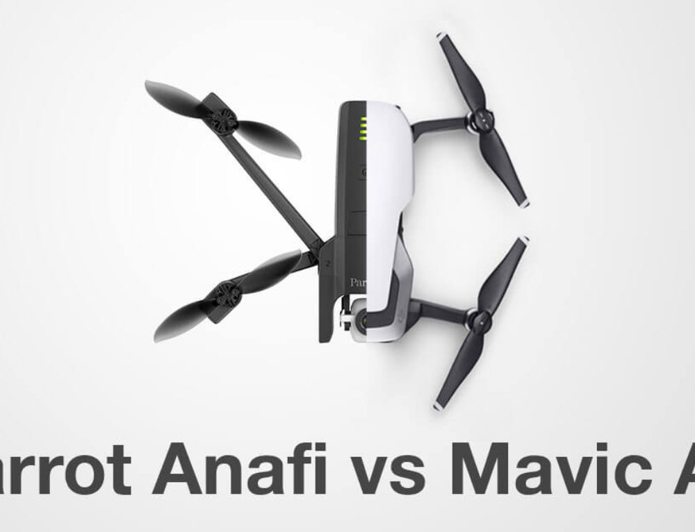 Parrot Anafi vs DJI Mavic Air Spec Comparison