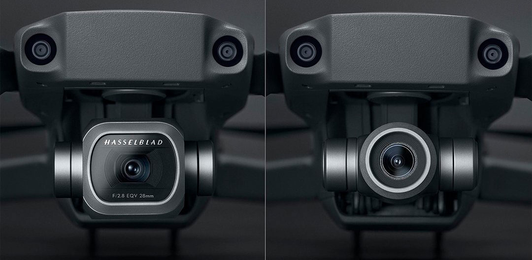 DJI Mavic 2 Pro and Zoom Cameras
