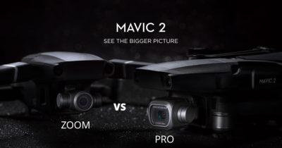 DJI Mavic 2 Zoom VS Mavic 2 Pro