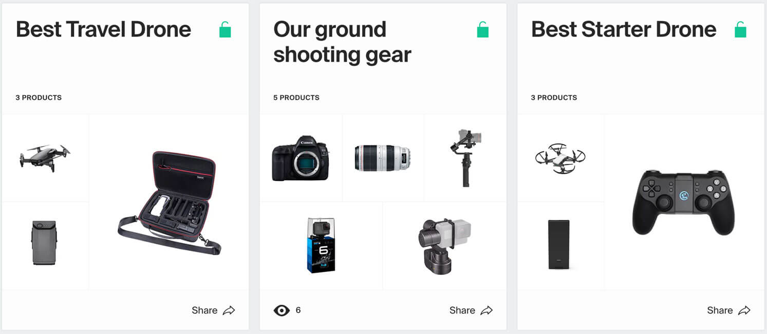 our favourite drone gear