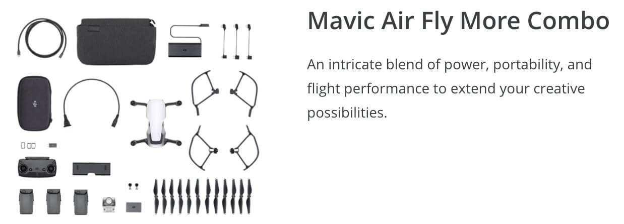 DJI Mavic Air Winter Drone Deal