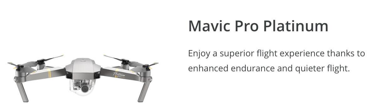 DJI Mavic Pro Platinum Winter Drone Deal