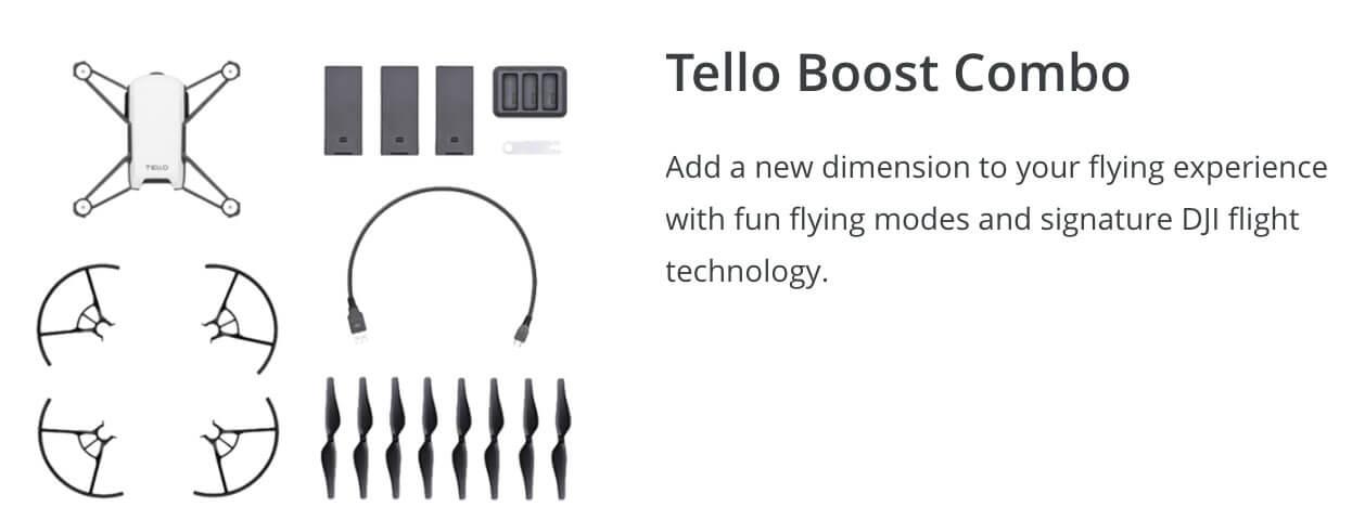 Tello and Tello Boost Winter Drone Deal