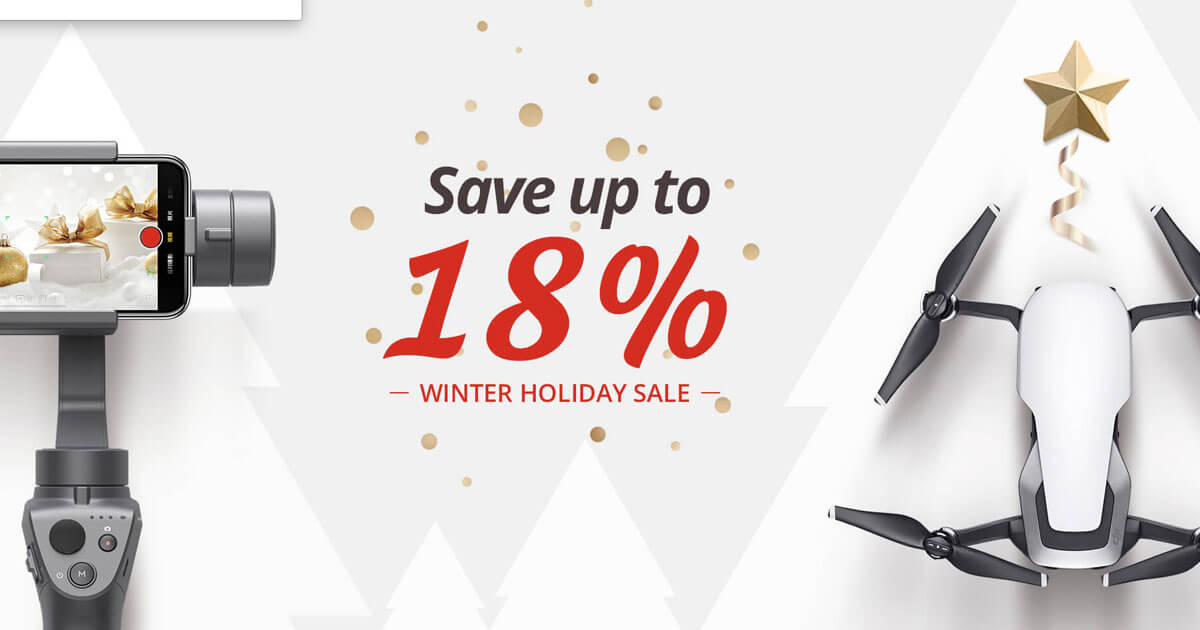 DJI Winter Drone Sale 2018