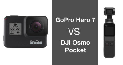 GoPro Hero 7 Vs Osmo Pocket