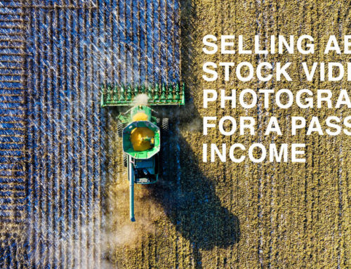Sell aerial stock photos and videos for passive income | Is aerial stock worth it?